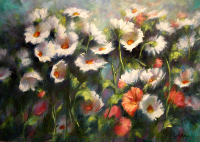 Flower Panel No 4 - 45 x 60cm
