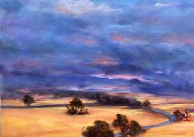 Further on up the Road 61 x 76cm