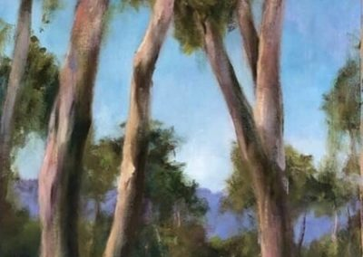 In the Grampians 33 x 77cm