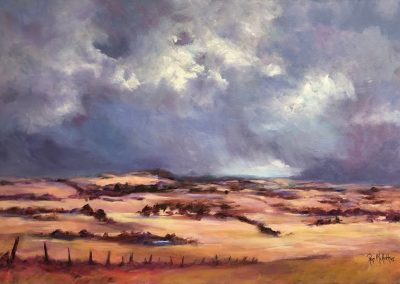 Towards Casterton 76 x 50cm