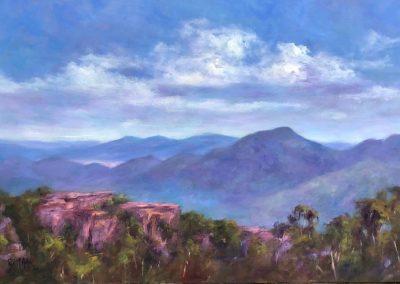 From Mt William 92 x 60cm