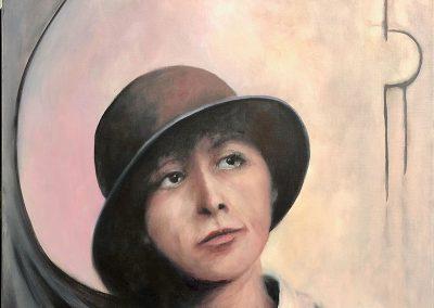 Portrait of an Era 60 x 60cm